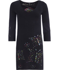 6a17b006d5 DESIGUAL DOMINIQUE KNITTED 3 4 ΦΟΡΕΜΑ ΓΥΝΑΙΚΕΙΟ 17WWVK44-2000 (2000 NEGRO)