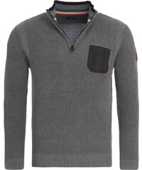 ccc7050ae64b TOM TAILOR PULLOVER ΠΛΕΚΤΟ ΑΝΔΡΙΚΟ 30230130010-STORMY GRAY (STORMY GRAY)