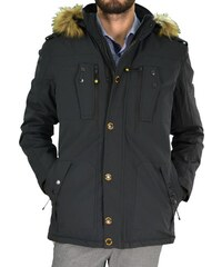 Ανδρικό τεχνικό μπουφάν Jacket Inox μαύρο 16543J e28c7f8ad4e
