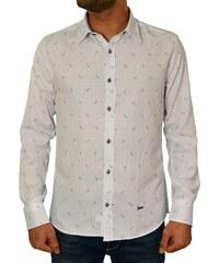 f63ebfc139d1 Ανδρικό πουκάμισο Ben Tailor λευκό πουά 20173410