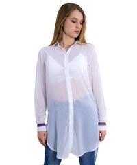 c305fbcd94b4 Noobass Ασύμμετρη denim πουκαμίσα - Μπλε jean - 06724024009 - Glami.gr