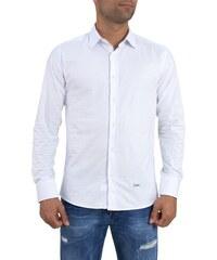 Ανδρικό λευκό μονόχρωμο πουκάμισο Ben Tailor 185210 aa2284abd14