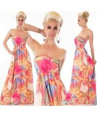 9a69c6a6e5ca SD Fashion 30737 SD Αέρινο στράπλες μάξι φόρεμα