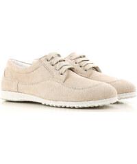 e27cdb853e6 Hogan Αθλητικά Παπούτσια για Γυναίκες Σε Έκπτωση Στο Outlet, Τζίντζερ,  Σουέντ δέρμα, 2019