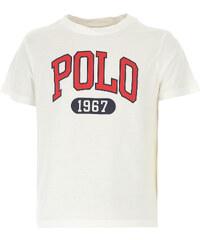 985c34b871dc Ralph Lauren Παιδικά Αγορίστικα Μπλουζάκια Σε Έκπτωση, Λευκό, Κοτόν, 2019,  2Y 4Y
