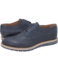5e0e4031cb Damiani Ανδρικά Παπούτσια Δετά 591 Μπλε Δέρμα Λαδερό - Glami.gr