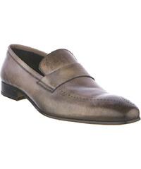 PAL ZILERI No. 45 Γκρί Δερμάτινα Παπούτσια d25ea4e80ce