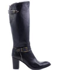 872c4ddb32 CASTALUNA Δερμάτινες μπότες με φερμουάρ - Glami.gr