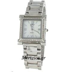 Dissoni White Rubber Strap Crystal Chronograph Watch K725 - Glami.gr e1bca40c12f