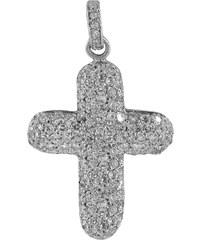 Mertzios.gr Σταυρός ασήμι 925 με ζιργκόν 84b33714118