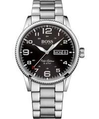 Ρολόι Hugo Boss Pilot Edition με ασημί μπρασελέ 1513327 bd36876cd9c