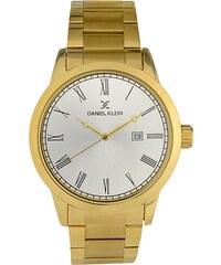 Ρολόι Daniel Klein premium με χρυσό μπρασελέ και ημερομηνία DK10811-6 bed4eb38d40