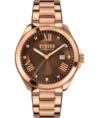 552c06023c Versus Versace Ρολόι Versus by Versace Elmont ημερομηνίας με ροζ χρυσό  μπρασελέ SBE070015