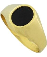 Watchmarket.gr Ανδρικό δαχτυλίδι χρυσό 14 καράτια με μαύρο όνυχα 57a40ba1702