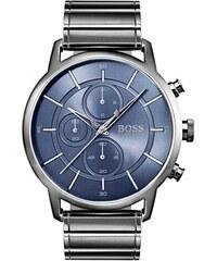 Ρολόι Hugo Boss Architectural με χρονογράφο και γκρι μπρασελέ 1513574 85b48fc3a77