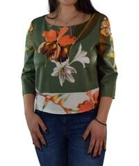 Γυναικεία Μπλούζα Forel 488062 Πράσινη Φλοράλ forel 488062 prasino floral b6e9bb740c7