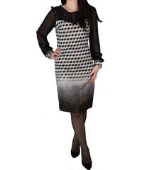 Φόρεμα Μίντι Vagias 4770-59 Εκρού Μαύρο vagias 4770-59 ekroy mayro a4e49aab697