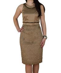 Φόρεμα Μίντι Vagias 1877-80 Μπεζ vagias 1877-80 mpez 3fd6d7046a0