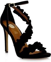 EXE Shoes Πέδιλα Γυναικεία SILVIA-758 Μαύρο Καστόρι exe shoes silvia-758  mayro 91e12b597d6