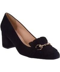 Moods Shoes Γυναικεία Παπούτσια 1380 Mαύρο Δέρμα moods 1380 mauro 512db069810