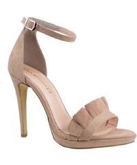 c0a63b895a5 Katia Shoes Γυναικεία Παπούτσια Πέδιλα 60-4923 Nude Καστόρι katia shoes  60-4923 nude