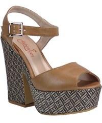 3ccf2c27b38 Envie Shoes Fashion Icon Γυναικεία Παπούτσια Πέδιλα F09-05653 Κάμελ Fashio  icon F09-05653