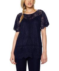 536335d0550b RAVE Μπλε δαντελένια μπλούζα - 48-50