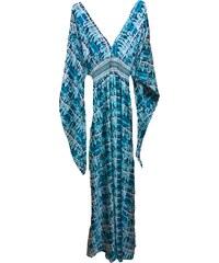 Bibibo Maxi φόρεμα μουσελίνα με βολάν στα μανίκια - Glami.gr 021438746ee