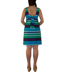 df55549dc4a1 RAVE Στιλάτο αμάνικο ριγέ φόρεμα - 48