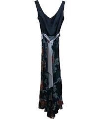 Angelo Maxi ασύμμετρο φόρεμα με floral φούστα 8d1285dba9b