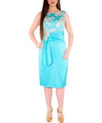 RAVE Αμπιγιέ Midi Φόρεμα με μπούστο δαντέλας - 48 58749a373be