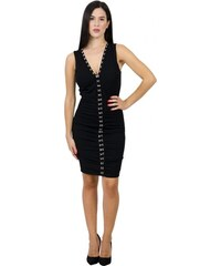 b497de45da68 Miss Pinky Φόρεμα mini suede με φερμουάρ - ΜΑΥΡΟ 107-1395 - Glami.gr