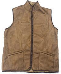 0117b501dd Dalis Leather Ανδρικό Δερμάτινο Γιλέκο Χειροποίητο Καφέ