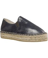 1cbd41cd345 Γυναικεία Loafers από Ύφασμα της Smart Shoes Ύψους 4 cm Χρώμα Ασημί κωδ.  S32-