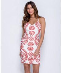 PARISIAN 22852PA Bodycon Φόρεμα με κέντημα Λευκό c209d2e45f2