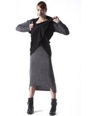 Μακρύ Πλεκτό Φόρεμα 7a70e85d513