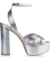 1806afbcf0e Ασημί Γυναικεία ρούχα και παπούτσια από το κατάστημα Envieshoes.gr ...