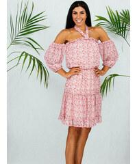6ee765a81b26 Stylegr Φόρεμα ροζ με λουλουδια