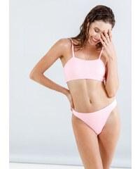 The Fashion Project Σετ γκοφρέ bikini με top μπουστάκι - Ροζ - 05115012001 db52fc6ce91