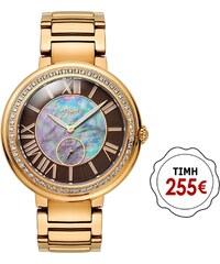 Ρολόι Vogue Red Carpet με ρόζ χρυσό μπρασελέ 97016.3 97a5aee8450