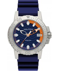 Ρολόι Nautica Flags Collection με μπλε λουράκι και ημερομηνία NAPKYW001 430e417b70a