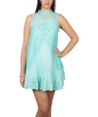 Free People Angel αμάνικο μίνι φόρεμα δαντέλα βεραμάν c8786712ae6