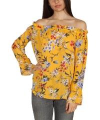 e1e359e1eb3b Rut and Circle Rut   Circle Eleonor Singoalla Μπαρντό μπλούζα κίτρινη με  φλοράλ