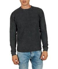 bb5795f5a9a9 Ryujee Piero πουλόβερ σκούρο γκρι
