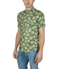Anerkjendt κοντομάνικο πουκάμισο Petrus γκρι αρζάν - Glami.gr 3326feed3f1