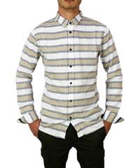 Anerkjendt ανδρικό ριγέ πουκάμισο Pauel λευκό 2f37767a5fa