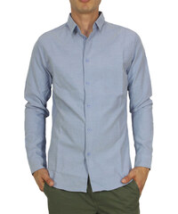Anerkjendt Μπλε Ανδρικά πουκάμισα - Glami.gr 97d8c5bb9fe