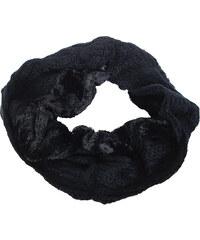 OEM Πλεκτός λαιμός μαύρος με γουνάκι 99e986384ed