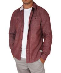 Bellfield ανδρικό μακρυμάνικο πουκάμισο Laker μπορντό b5bb45f0b97