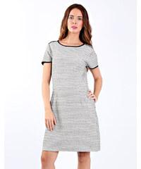fa9a32a1b1fa e-xclusive Εκρού ριπ κλος φόρεμα με V λαιμουδιά - Glami.gr